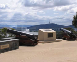 Royal Regiment of Australian Artillery, Memorial, Canberra ACT
